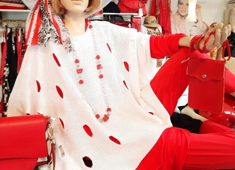 Inspirationer i rødlige farver